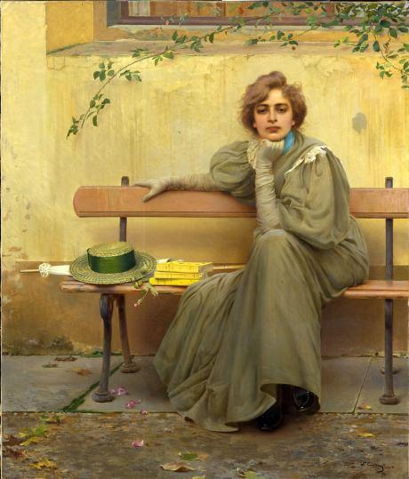 Vittorio Corcos, Sogni (1896)